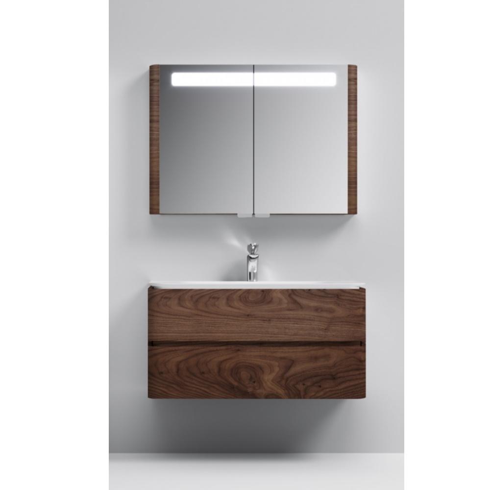 Мебель для ванной Am.Pm Sensation M30FHX1002NF 100 см, орех - купить в интернет-магазине сантехники Santehnika-shop.su