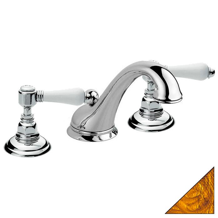 Смеситель Nicolazzi Classica Lusso 1449 GB 78 на борт ванны чугунная маленькая ванная комната