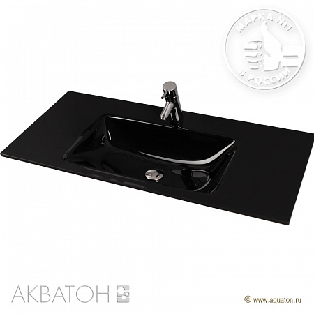 Раковина Aquaton Rimini 1AX113WBXX000 100 float black