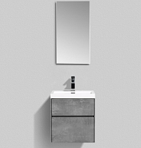 Мебель для ванной BelBagno Pietra Mini PIETRA MINI-500AS-2C-SO-SCM 50 stucco cemento