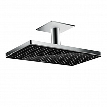 Верхний душ Hansgrohe Rainmaker Select  24002600 черное стекло