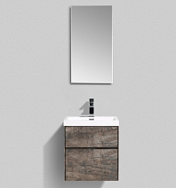 Мебель для ванной BelBagno Pietra Mini PIETRA MINI-500AS-2C-SO-PT 50 stone